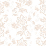 Vector flower seamless pattern element. Elegant texture for backgrounds. Classical luxury old fashioned floral ornament Stock Photo