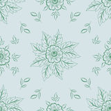 Vector flower seamless pattern element. Elegant texture for backgrounds. Classical luxury old fashioned floral ornament. Seamless texture for wallpapers Royalty Free Stock Images