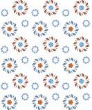 Vector flower seamless pattern. Stock Photo