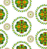 Vector flower seamless pattern. Stock Images