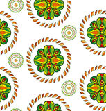 Vector flower seamless pattern. Royalty Free Stock Photography