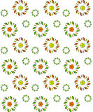 Vector flower seamless pattern. Stock Photos