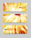 Vector flower set banner . brochure template. This is file of EPS10 format Royalty Free Stock Photo