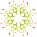 Vector Flowers Royalty Free Stock Image