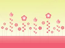 Vector Flowers stock illustration