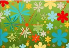 Vector flowers Stock Photo