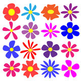 Vector Flowers Royalty Free Stock Photo