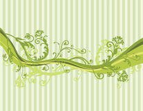 Vector flowers background Stock Photo