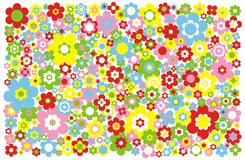 Vector Flowers Background Royalty Free Stock Photography