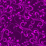 Vector flowers patterns Royalty Free Stock Photography