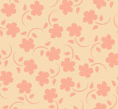 Vector flowers seamless pattern Royalty Free Stock Photos