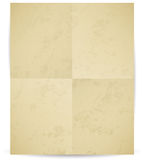 Vector folded paper with texture Stock Images