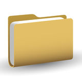 Vector folder Royalty Free Stock Photos