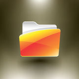 Vector Folder Royalty Free Stock Image