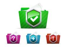 Vector folder icon Royalty Free Stock Photos