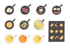 Vector food Stock Images