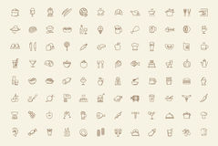 Free Vector Food Icons Set Stock Images - 39431944