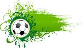 Vector football banner. Stock Photography