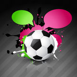 Vector football design Royalty Free Stock Photography