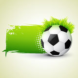 Vector football design Stock Photos