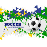Vector football design art Royalty Free Stock Photography
