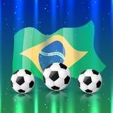 Vector football design Stock Photography