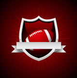 Vector Football Emblem Royalty Free Stock Image