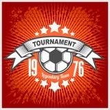 Vector Football emblem. Stock Photography