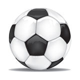 Vector football soccer ball isolated Stock Image