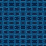 Vector format, seamless geometric new style. A set of seamless blue technology. Modern abstract textures royalty free illustration