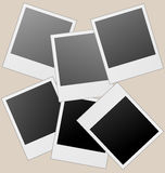 Vector fotoframes. vector illustratie