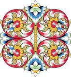 Vector fragment of orthodox ornamental pattern Stock Images