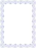 Vector frame documentdecoratie royalty-vrije illustratie
