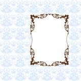Vector Frame And Pattern Stock Photos
