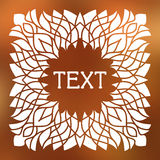 Vector frame with space for text Royalty Free Stock Images