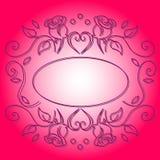 Vector frame vintage decoration royalty free illustration