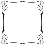 Vector frame on white background. Hand drawing Royalty Free Stock Image