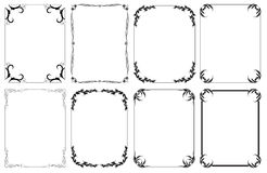 Vector Frames Royalty Free Stock Image