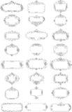 Vector frames Royalty-vrije Stock Foto's