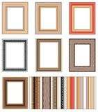 Vector frames on the wall 2 Stock Photos