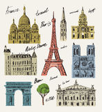 Vector france Stock Images