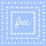 Vector of free tag, free sign, free label. Illustration EPS10 Royalty Free Stock Image