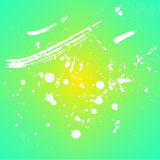 Vector fresh gradient texture Background. Abstract paint drops, spot & stroke. Hand drawn art illustration vector illustration