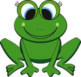 Vector frog Stock Photos