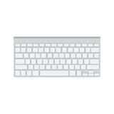 Vector front view White keyboard Stock Photo