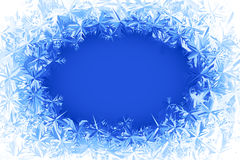 Vector frost frame Royalty Free Stock Photography