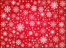 Vector frosty snowflakes background Royalty Free Stock Photos