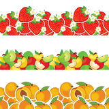 Vector fruit Royalty Free Stock Photography