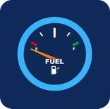 Vector Fuel Gauge Stock Photography