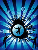 Vector fun people illustration Stock Images